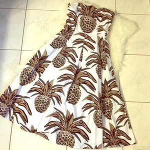 Eva Mendes Collection Pineapple Summer Dress